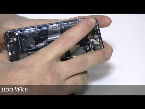 How To Open iPhone 5 - How To Repair iPhone iPhone 5 - How Change