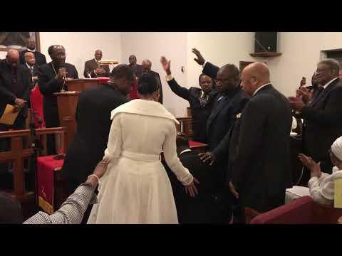 Pastor Milton D Vann Installation as the new pastor of Jefferson Temple