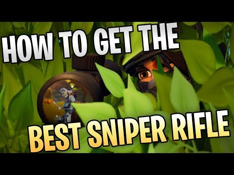 FORTNITE - How To Get The Best Sniper Rifle In Save The World (New Hammer, Cram Session Rewards)