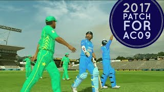 How to Apply 2017 Patch for Ashes Cricket 2009-New Pitch,Stumps and Overlays-|| Roshan Behera ||
