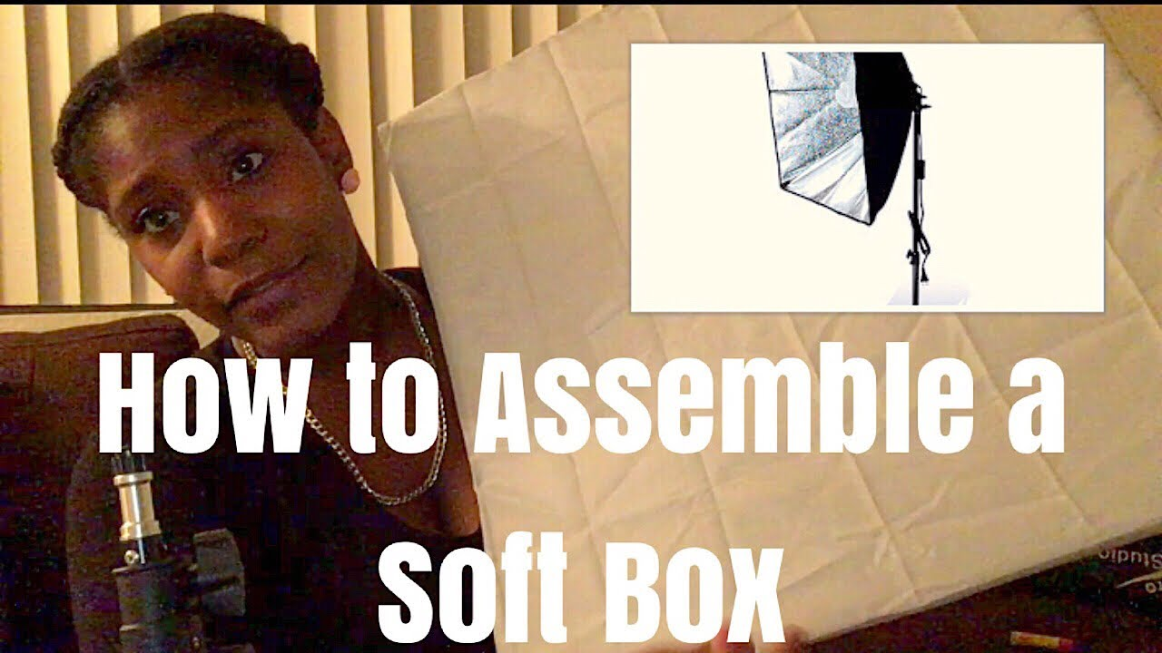 How To Assemble A Soft Box Very Detailed Ft Ls Pro Photo Studio