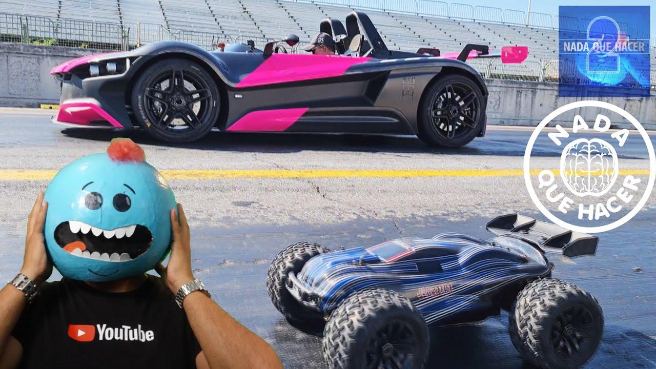 ¿Cómo hice una carrera de un RC con un Super auto Vuhl, y que es Carlos Master Muñoz de mi? |NQUEH2