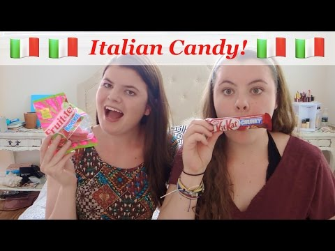AMERICANS TRY ITALIAN CANDY!!