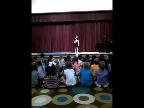 Eva Singing Dream Catcher By Set It Off For 40st Grade Talent Show Stunning Set It Off Dream Catcher