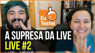 Baixar Qual será a surpresa da segunda Live do EuTestei? - Live #02 EuTestei
