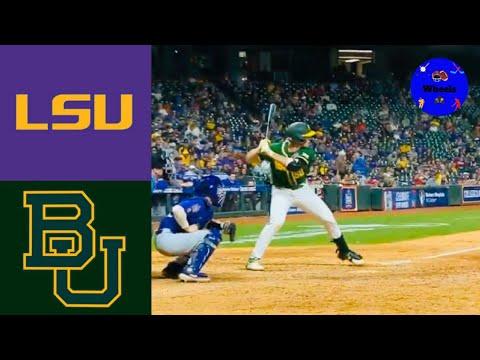 #11 LSU Vs Baylor | 2020 College Baseball Highlights