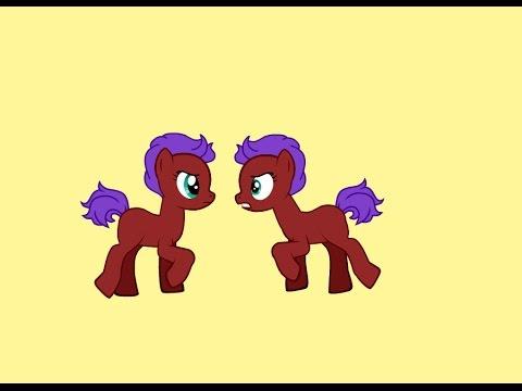 Как сделать две пони на одном фоне?