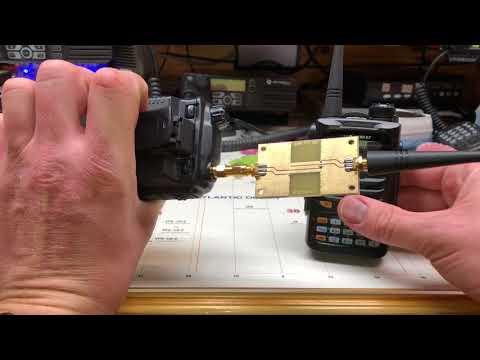 Hobby PCB 440MHz filter