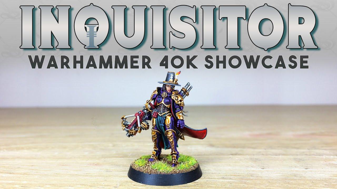 PAINTING SHOWCASE Inquisitor Greyfax Custom Warhammer 40k