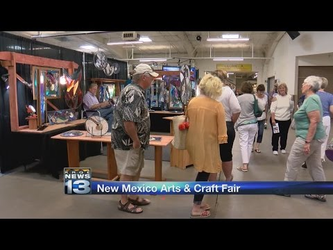New Mexico Arts and Crafts Fair happening this weekend in Albuquerque