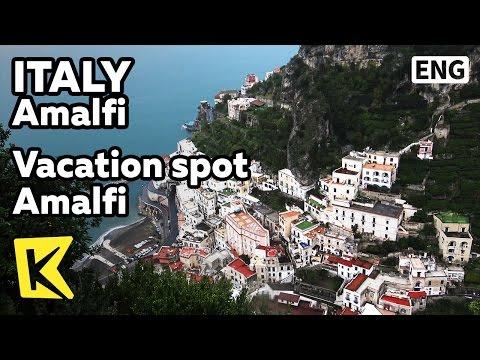 【K】Italy Travel-Amalfi[이탈리아 여행-아말피]귀족들의 휴가처 아말피/Vacation spot/Unesco/Coast/Observatory