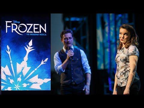 Frozen on Broadway Highlights! Epcot Festival of the Arts -  Kara Lindsay & Kevin Massey
