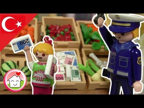 Playmobil Polis Türkçe Komiser Ali Ve Portakallar - Hauser Ailesi - Polis Komiser Ali