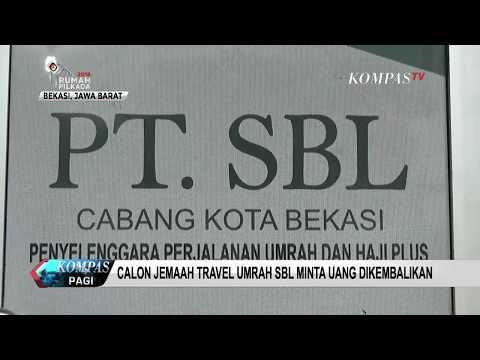 Sidang Kasus penipuan umroh PT SBL, korban ribuan jama'ah dan kerugian mencapai ratusan milyar rupia.