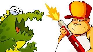 БОЛОТНАЯ Атака #1 Мультик Игра для детей БОЛОТНАЯ БИТВА Swamp Attack #КРУТИЛКИНЫ #КИД