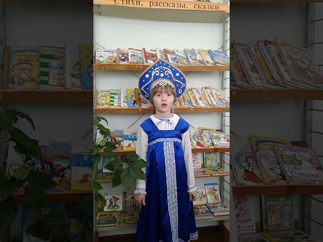 Изображение предпросмотра прочтения – АннаМанзуркина читает произведение «Сказка Курочка Ряба» (Русский фольклор )