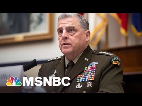 Veteran On GOP Attacking General's Stance Of Critical Race Theory