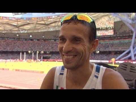 WCH 2015 Beijing - Daniel Meucci ITA Marathon Final 8th