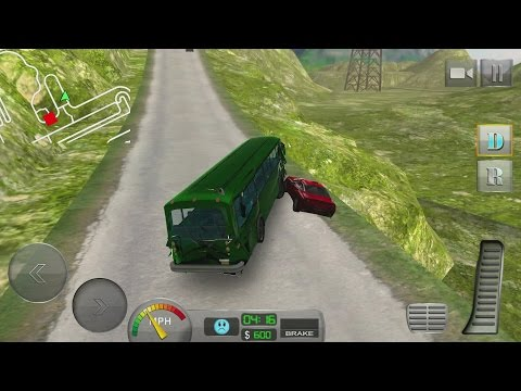 Bus Driver 3D: Hill Station Android Gameplay #5