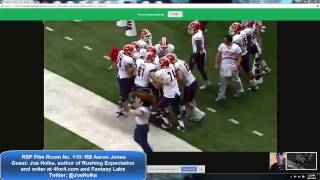 Jones, an underrated running back in the 2017 NFL Draft, earns a lo...