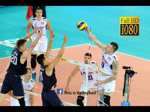 USA vs Italy | 14 July 2016 | Final Round | 2016 FIVB Volleyball World League