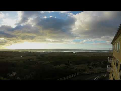 Time-Lapse of Clouds over the Pacific at Ocean Shores, Washington
