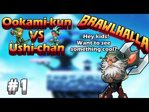 Grandpa gangbang?!? WTF! | Ookami kun VS Ushi chan | Brawlhalla #1