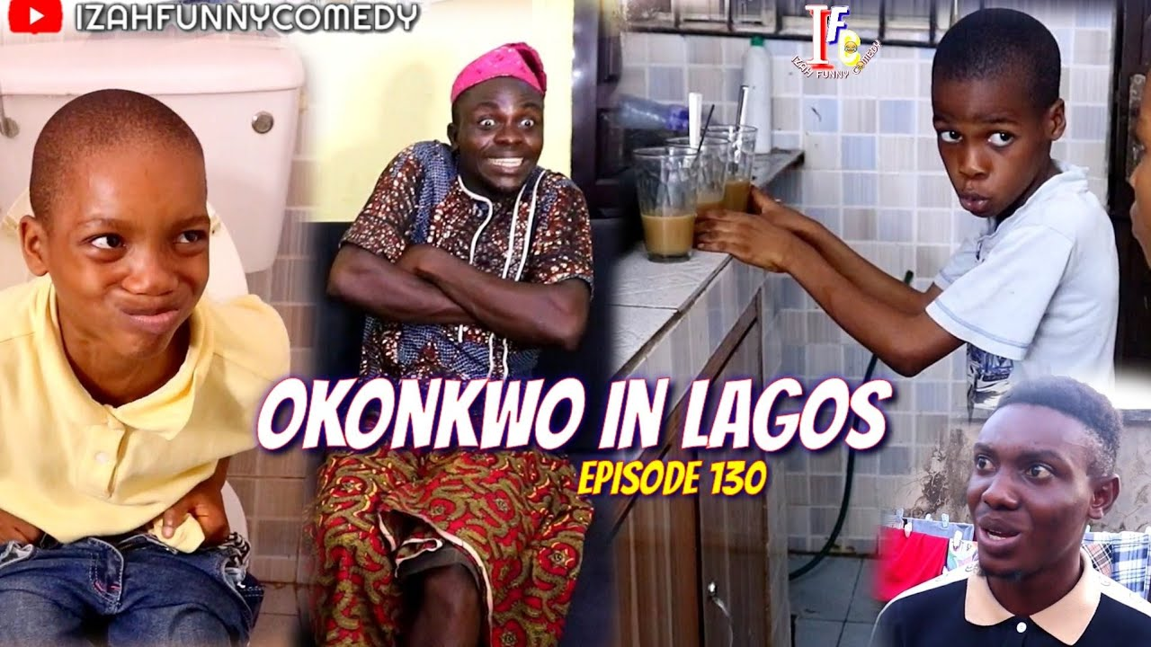 OKONKWO IN LAGOS (Izah Funny Comedy) (Episode 130)