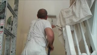 Doing It Yourself Dulux Easycare  Applied To Staircase Walls