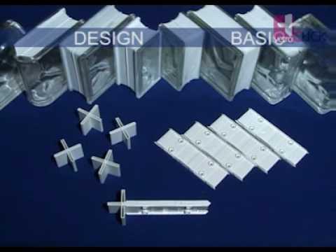 Componentes del sistema de colocaci n de bloques de vidrio - Colocacion de bloques de vidrio ...