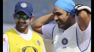 Gambhir comes out in support of Sehwag