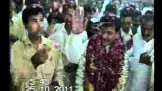 Saaed Khan Nawani Welcome in Haitu Bhakkar 25.10.2011