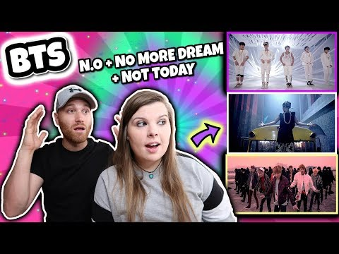 BTS (방탄소년단) 'Not Today'  'No More Dream' and _ N.O (엔.오)  Official MV Reaction