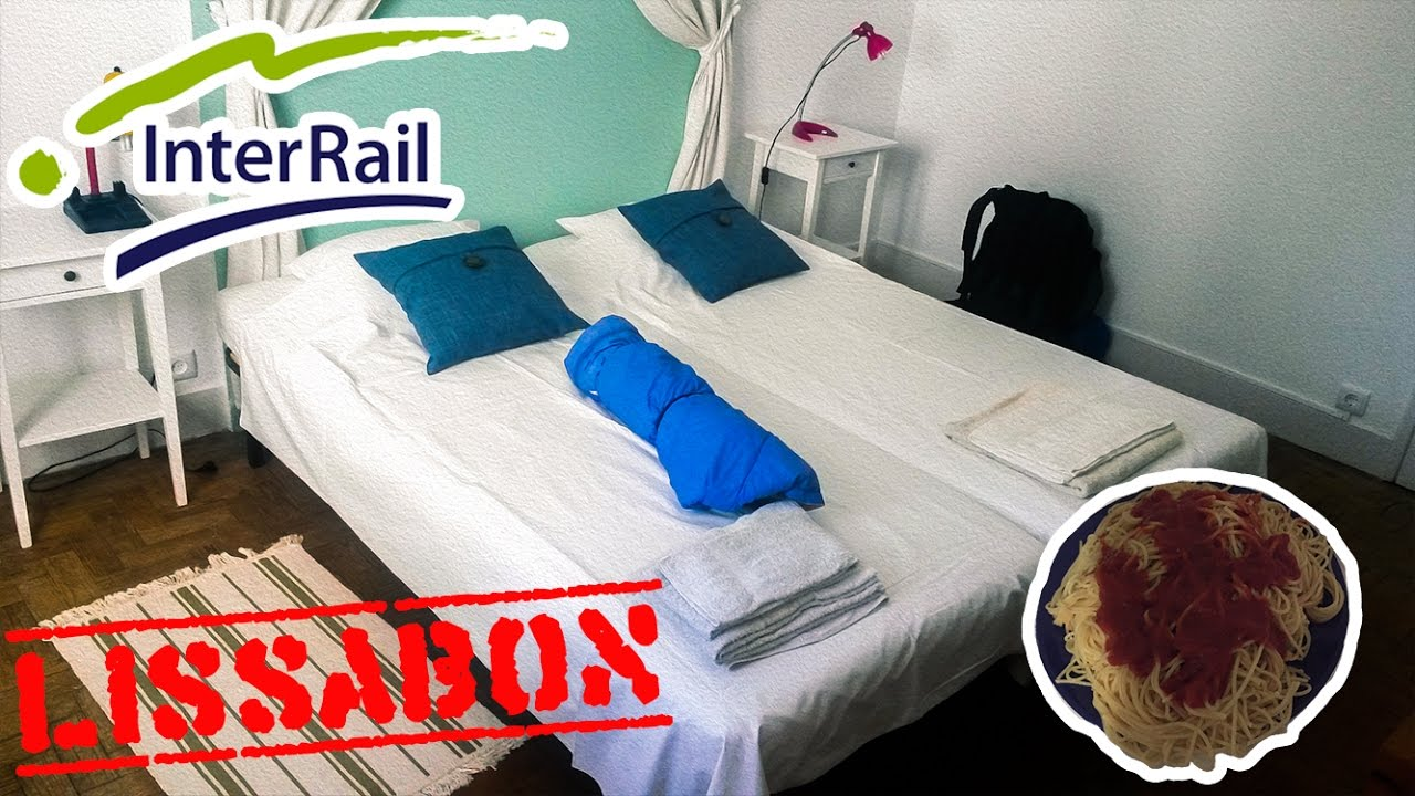 airbnb in lissabon wohnen bei locals interrail vlog tag 13 youtube. Black Bedroom Furniture Sets. Home Design Ideas