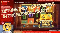 Book of Gold: Double Chance!! Brilliant wins/achievement all in one session!!!