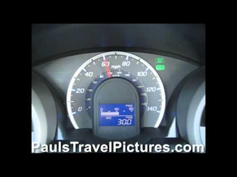 Honda Fit Jazz 40 MPG 60 MPH Cruise Control Fuel Economy Test Video.wmv