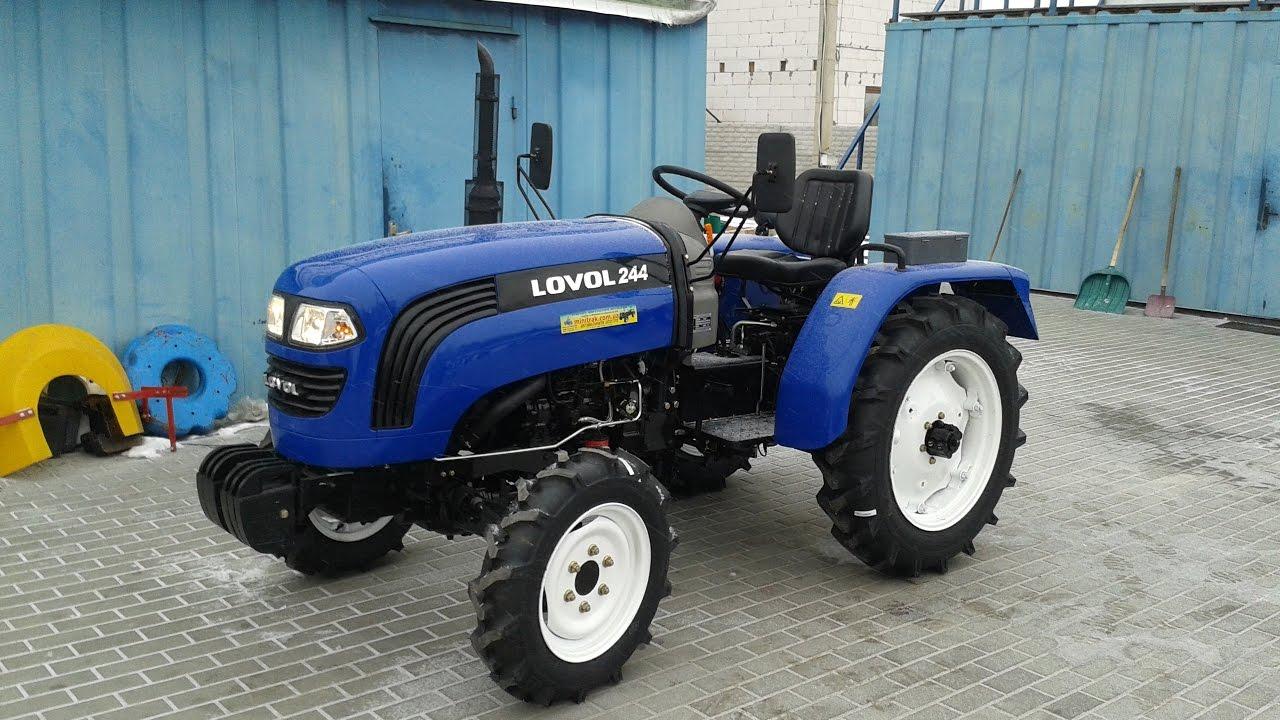 Мини-трактор Lovol/Foton TE-244 (Фотон ТЕ-244) minitrak.com.ua
