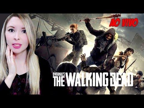 OVERKILL's The Walking Dead - Jogando Pela Primeira Vez - AO VIVO thumbnail