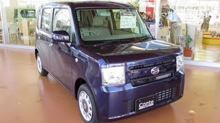 2013 New Daihatsu MOVE Conte - Exterior & Interior