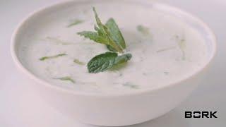 греческий соус дзадзики в блендере BORK B802: рецепт и секрет приготовления