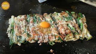 부산 온천장 │ 동래 파전 │ Dongnae Pajeon │ 한국 음식 │ Korean Food