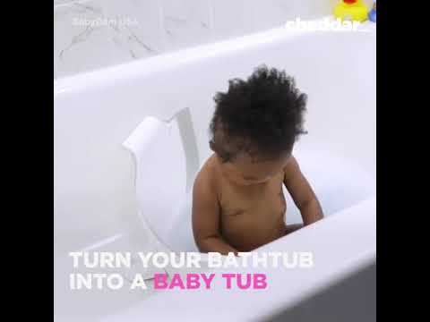 Save water when giving your #baby a bath. Meet the Babydam. #ecofriendly 🌱 | Civil Science