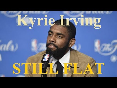 Kyrie Irving trolls radio station - stays on a Flat Earth -