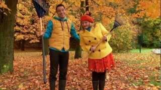 C'est l'automne : Le râteau