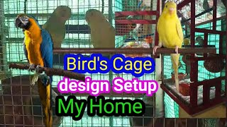 How to make Love Brad's Cage at Home || Love Brad's Cage design | Bird's Cage DIY setup ideas Price