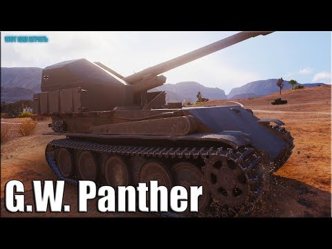 Рэдли Уолтерс на АРТЕ  ✅ World Of Tanks G.W. Panther лучший бой