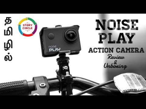 Noise play action camera with sample videos and pics - unboxing and review in (tamil)