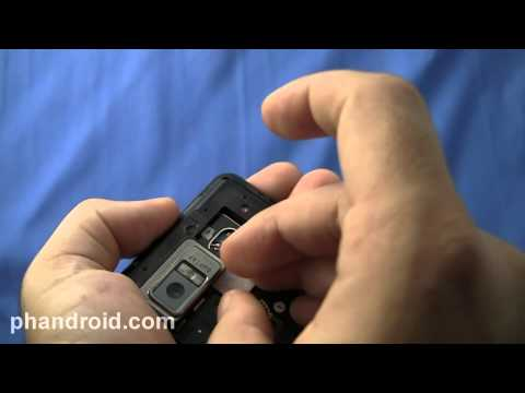 Droid Bionic Battery Cover, MicroSD, 4G SIM Slot