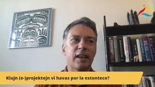 """VK 2020: Aŭtora Momento kun Mark Fettes: """"Ne estas fido nur"""""""