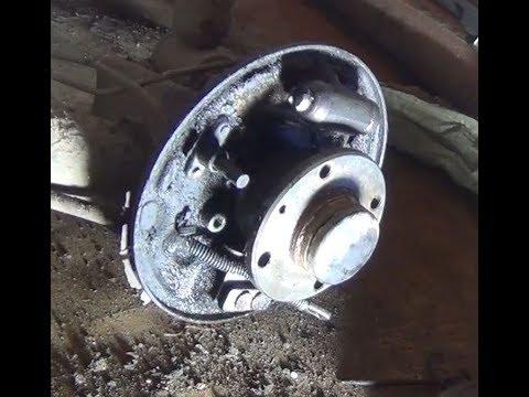 Замена заднего тормозного цилиндра Лада Гранта